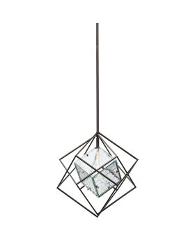 PENDANT LAMP PRISMA ICE CUBE SMALL (EXCLUDING BULB AND SOCKET)