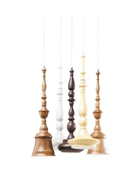 PENDANT LAMP TORNITO SPIRAL 5 (EXCLUDING BULB AND SOCKET)