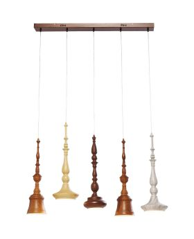 PENDANT LAMP TORNITO DINING  5 (EXCLUDING BULB AND SOCKET)