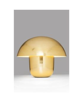 Table Lamp Mushroom Brass (Excluding Bulb)