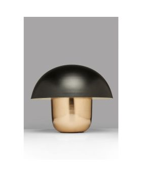 Table Lamp Mushroom Copper-Black (Excluding Bulb)