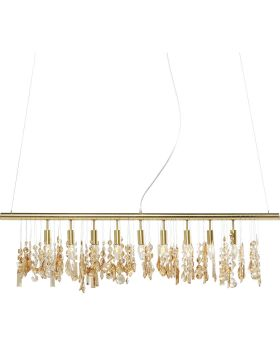 Pendant Lamp Klunker Deluxe Brass 120c