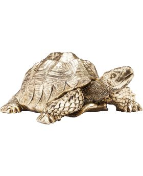 Deco Figurine Turtle Gold Small