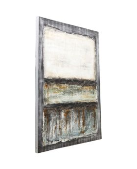 Oil Painting Abstract Grey Line One 150x120cm