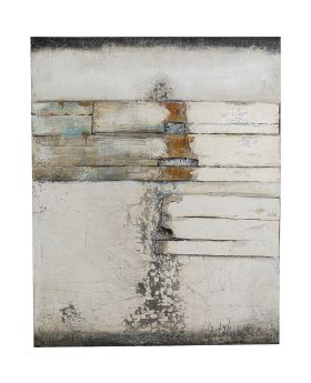 Oil Painting Abstract Grey Line Two 150x120cm