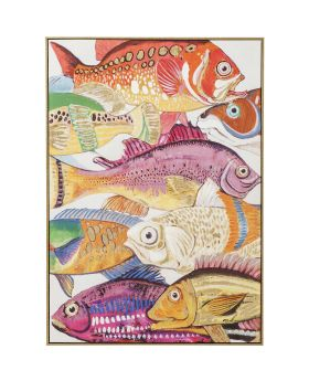 Picture Touched Fish Meeting One 100x7