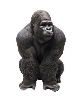 Deco Figurine Monkey Gorilla Front XXL