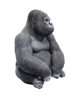 Deco Figurine Monkey Gorilla Side Medium