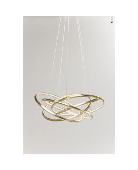Pendant Lamp Saturn Led Gold Big (Excluding Bulb And Socket)