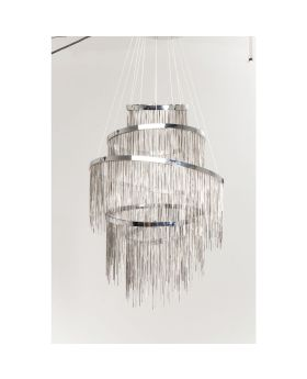 Pendant Lamp Vezzo Cinque Chrome LED