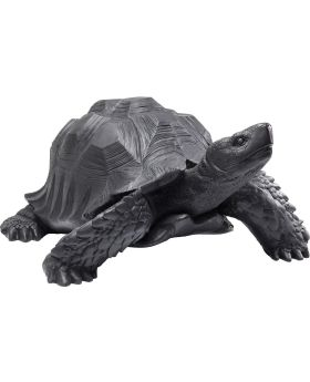 Deco Figurine Turtle Black Big
