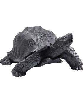 Deco Figurine Turtle Black Big