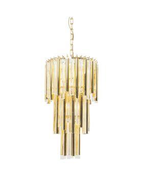 Pendant Lamp Palazzo Pole Gold Ø35cm