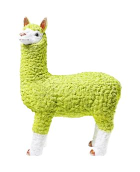 Money Box Alpaca Lime 62cm