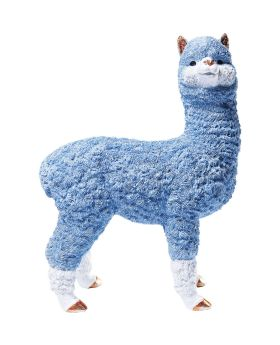 Money Box Alpaca Light Blue 47cm