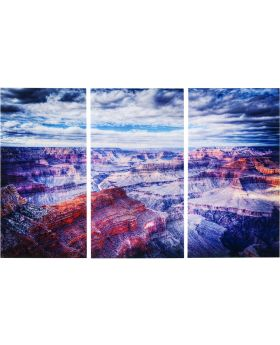 Picture Glass Triptychon Grand Canyon1
