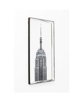 Picture Mirror Empire State Building 120x60cm