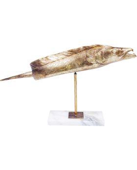 Deco Figurine Pescado Gold