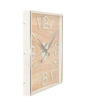 Wall Clock Lodge 50x50cm