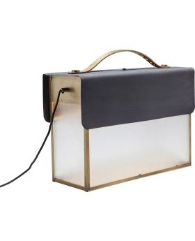 FLOOR LAMP SUITCASE SMALL (EXCLUDING BULB)