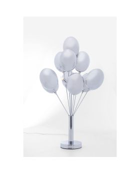 TABLE LAMP SILVER BALLOONS (EXCLUDING BULB)