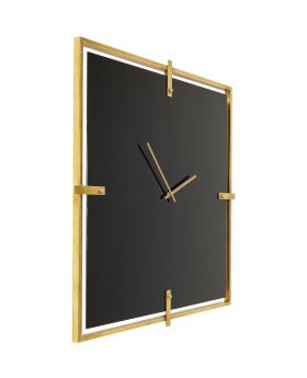 Wall Clock Black Mamba