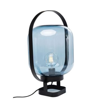 TABLE LAMP JUPITER BLUE-BLACK (EXCLUDING BULB)