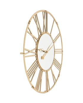 Wall Clock Giant Gold 120cm