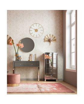 Wall Clock Artist Rosegold 46cm