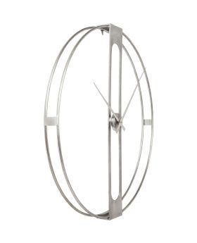 Wall Clock Clip Silver 107cm