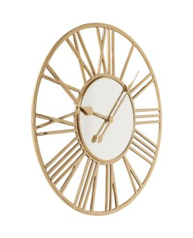 Wall Clock Giant Gold 80cm