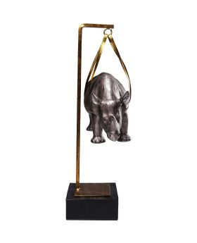 Deco Figurine Hanging Rhino