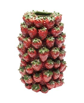 Vase Strawberry Field 36cm