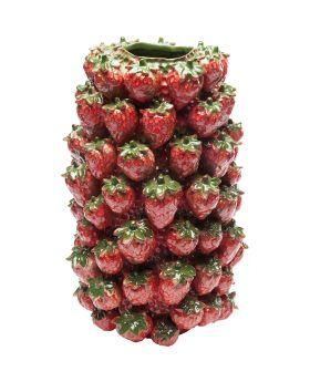Vase Strawberry Field 36cm