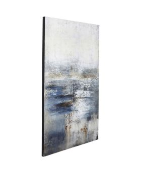 Oil Painting Abstract Into The Night 210x120cm