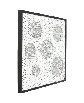 Deco Frame Wall Art Planetary 100x100cm