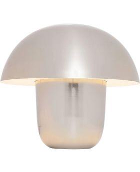 Table Lamp Mushroom Chrome Small (Excluding Bulb)