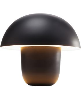Table Lamp Mushroom Black Small