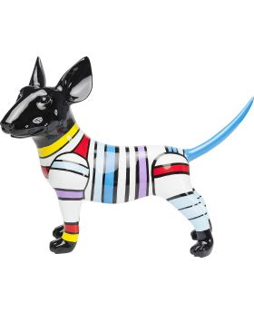 Deco Figurine  Dog Stripe 59cm