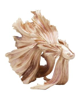Deco Figurine Betta Fish Gold