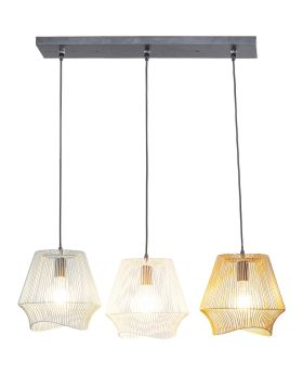 PENDANT LAMP ISCHIA DINING TRE (EXCLUDING BULB AND SOCKET)
