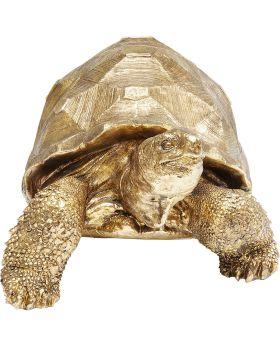 Deco Figurine Turtle Gold Medium