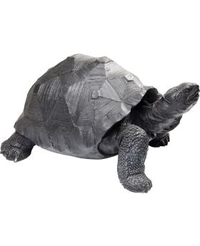 Deco Figurine Turtle Black Medium
