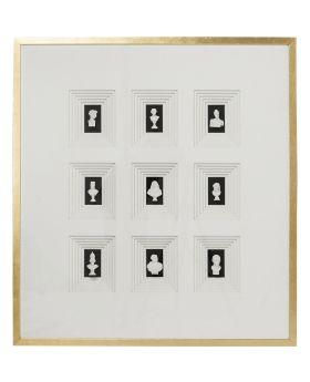Deco Frame Ancient  Art Nove 110x100cm