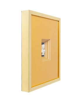 Deco Frame Ancient Bust Orange Two 50x40cm