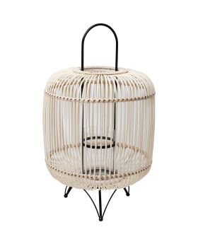Table Lamp Bamboo 62Cm,Nature (Excluding Bulb)
