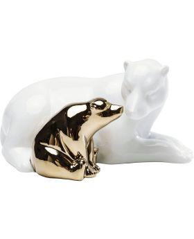 Deco Figurine Polar Bear Love Big