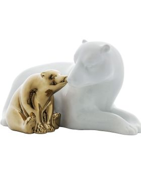 Deco Figurine Polar Bear Love Small
