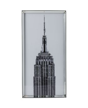 Picture Mirror Frame Empire State Buil