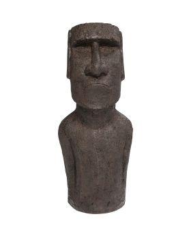 Deco Object Easter Island 80Cm,Grey